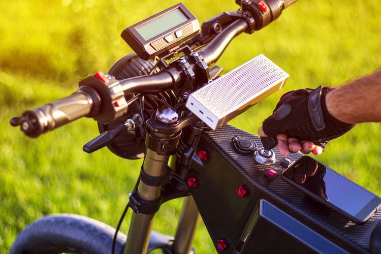 Elektrobicykel s elektropohonom na prednom kolese