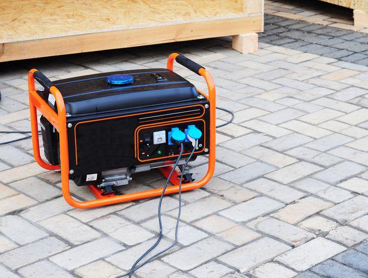 Elektrocentrála generátor
