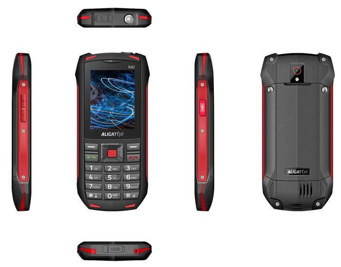 Outdoorový telefón Aligator R40 eXtremo
