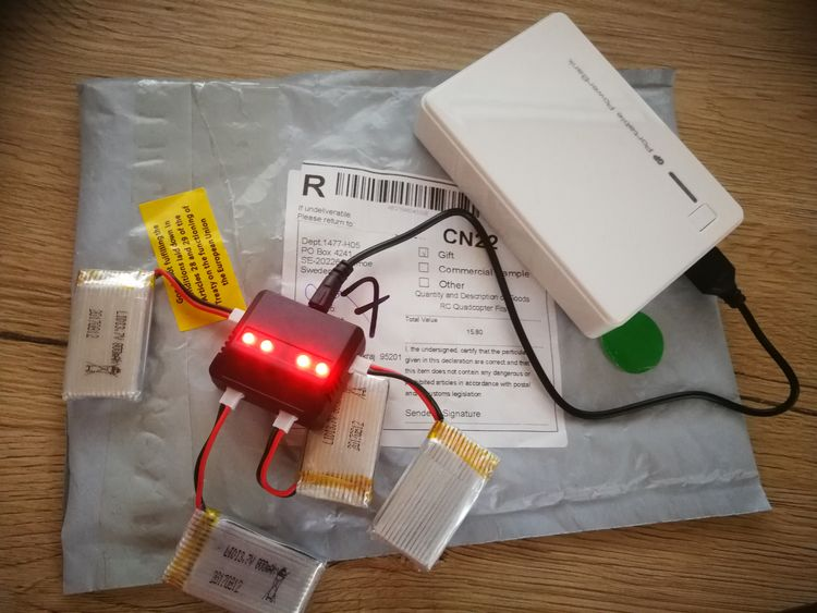 Batérie k dronu