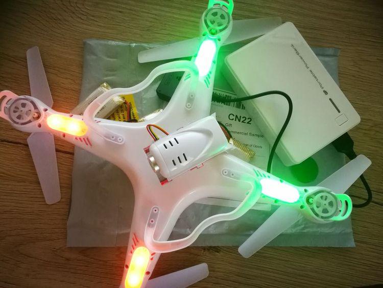 Batérie do drona kúpené cez Gearbest.com