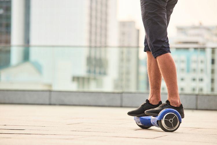 Kolonožka hoverboard