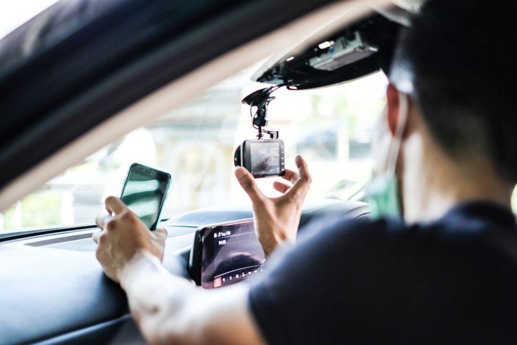Kamera do auta s WiFi