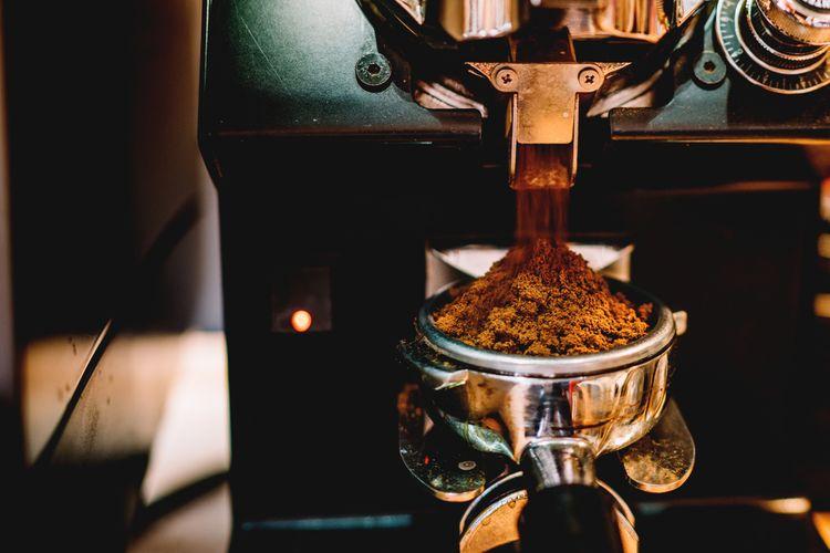 Káva v kávovare