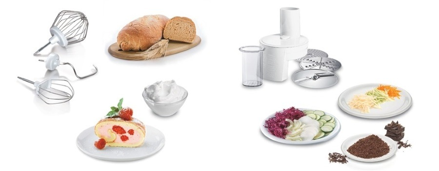 Funkcie kuchynského robota