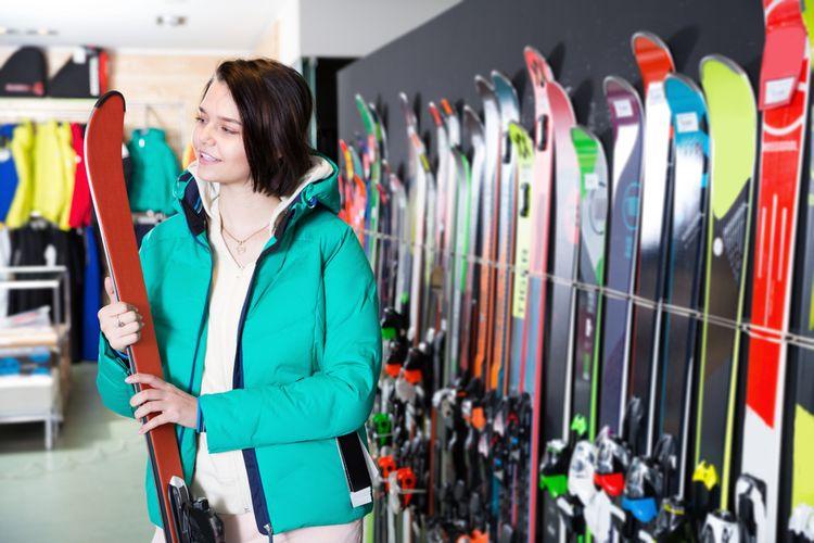 Výber lyží