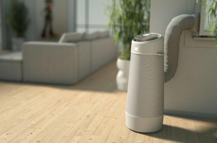 Vývod vzduchu mobilnej klimatizácie