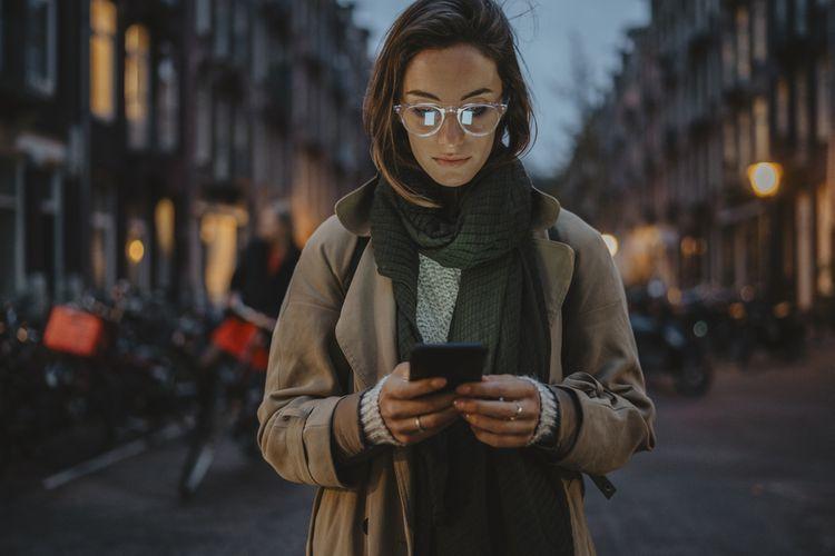 Displej mobilného telefónu