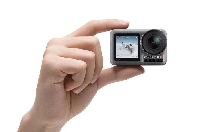 Akčná kamera DJI Osmo Action rozmery