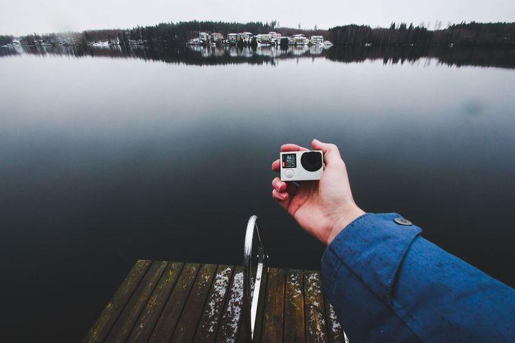 Malá outdoorová kamera