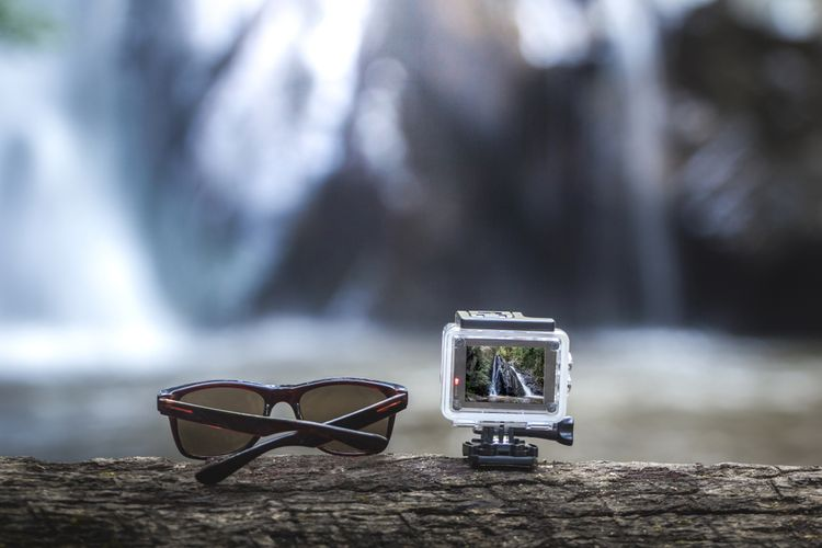 Outdoorová športová kamera
