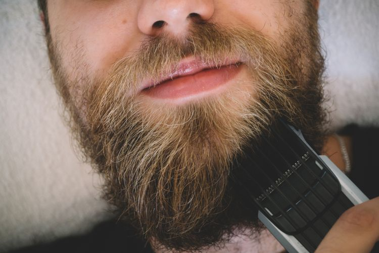 Holiaci strojček brada