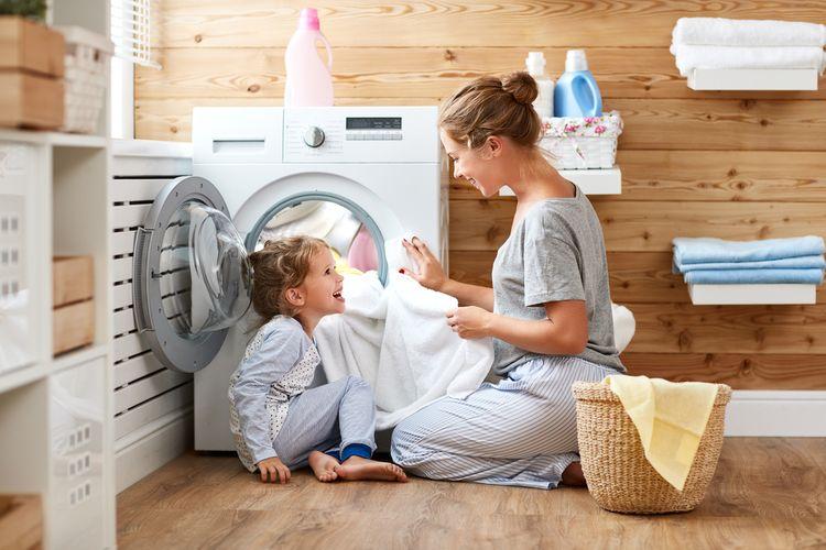 Pranie v práčke