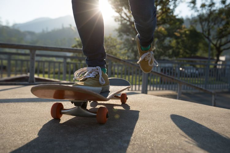 Jazda na skateboarde