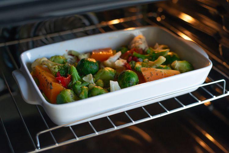 Príprava zeleniny v konvektomate