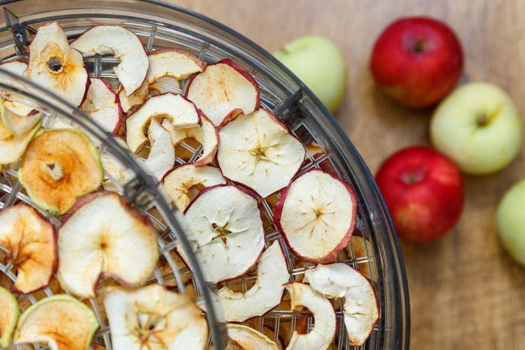 Sušička ovocia s 3 plátmi
