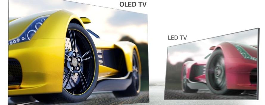 Rozdiel medzi LED a OLED
