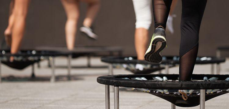 Trampolína na cvičenie
