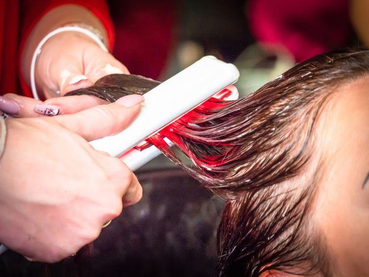 Žehlička na mokré vlasy