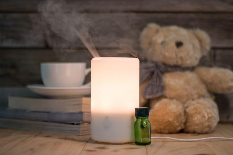 Zvlhčovač vzduchu aromaterapia