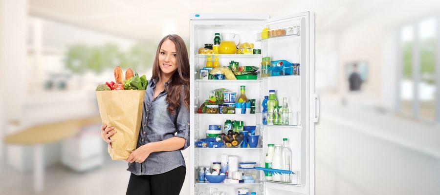 chladnička - otváranie dverí