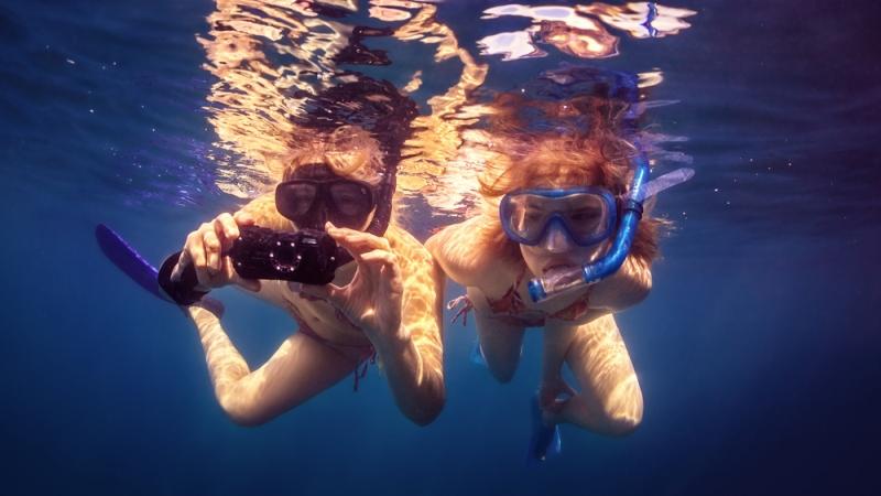 najlepšie vodotesné fotoaparáty