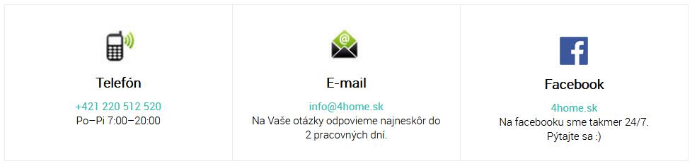 4home.sk kontakt
