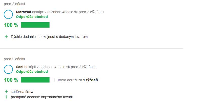 Skúsenosti a recenzie 4home.sk
