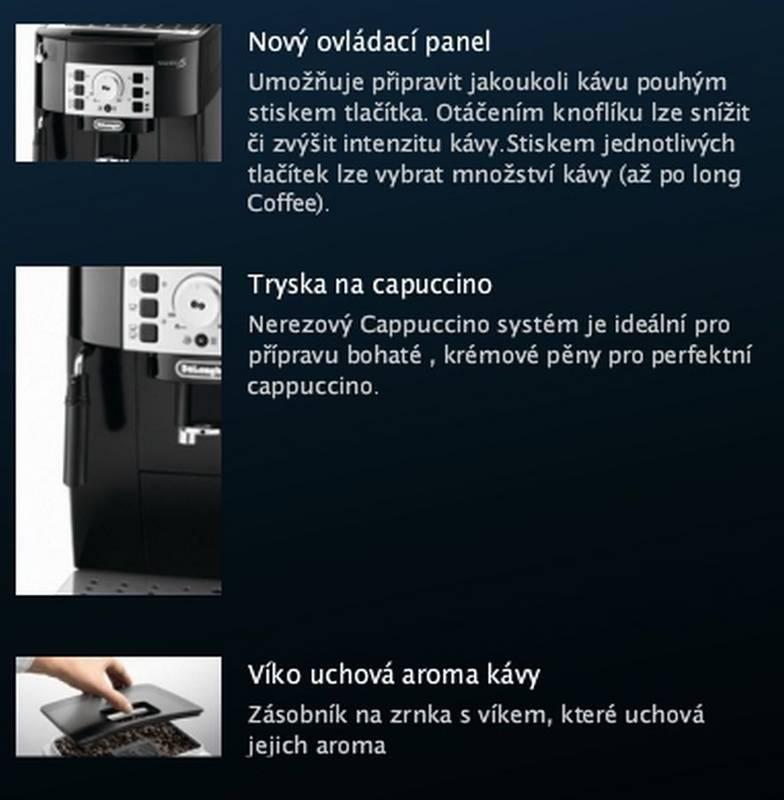 delonghi ecam b automatick k vovar. Black Bedroom Furniture Sets. Home Design Ideas