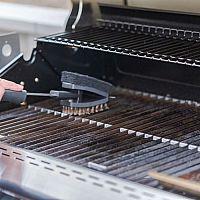 Ako vyčistiť pripálený plynový, elektrický a gril na uhlie, triky na čistenie roštu na gril
