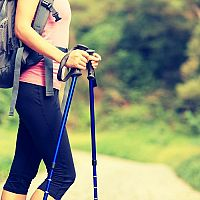 Najlepšie trekingové palice, turistické palice a palice na Nordic walking