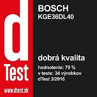 Bosch KGE36DL40 recenzia a skúsenosti