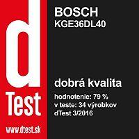 Bosch KGE36DL40 Kombinácia chladničky s mrazničkou
