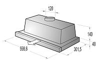 Gorenje DF 6315 X odsávač pár