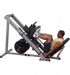GLPH1100 Body-Solid Leg press and Hack squat posilňovacia lavica